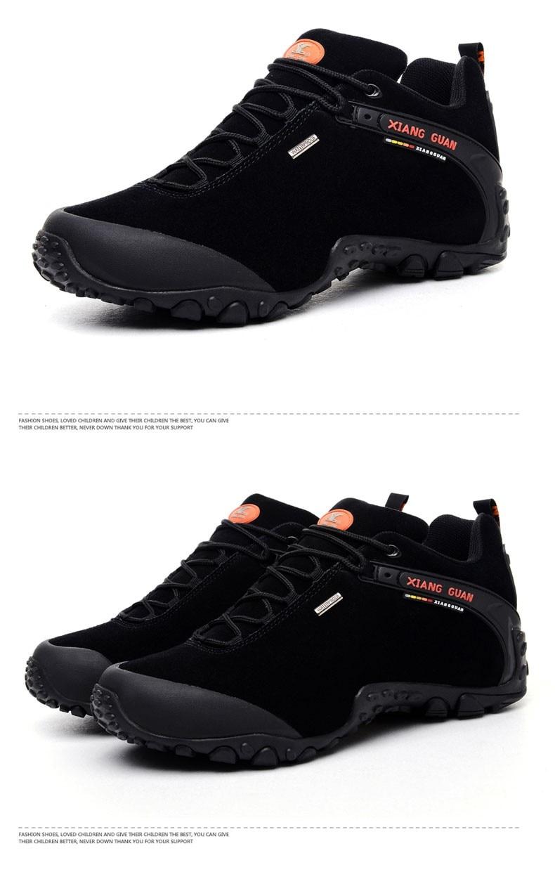 XIANG GUAN Winter Shoe Mens Sport Running Shoes Warm Outdoor Women Sneakers High Quality Zapatillas Waterproof Shoe81285 40