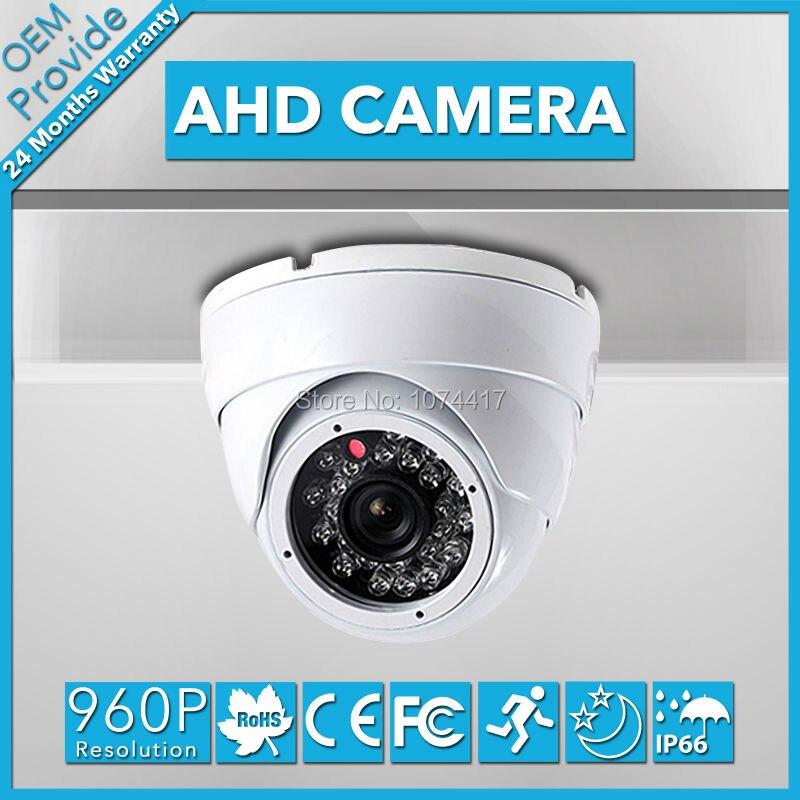AHD2413TR-T  1.3 MP AHD CMOS CCTV Camera 960P Dome Camera Waterproof IP66  IR Cut Filter AHD Security Surveillance<br>