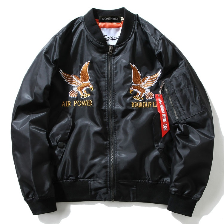 Eagle Dragon MA1 Bomber Jacket 2