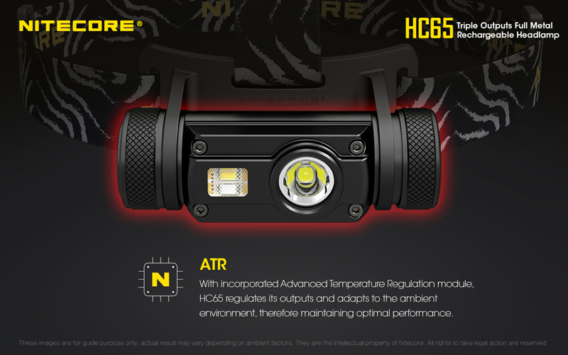 Nitecore HC65 1000 Lumens Rechargeable Headlamp (25)
