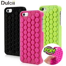 DULCII for iPhone 6 6s Case for iPhone 7 Case for iPhone 5s Case 8 Plus Novelty Pop Sound Bubble Wrap Phone Cover for iPhone SE