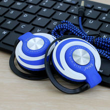 Daono Q170 Headphones 3.5mm Headset EarHook bass Earphone For Mp3 Player Computer Mobile Telephone Wholesale