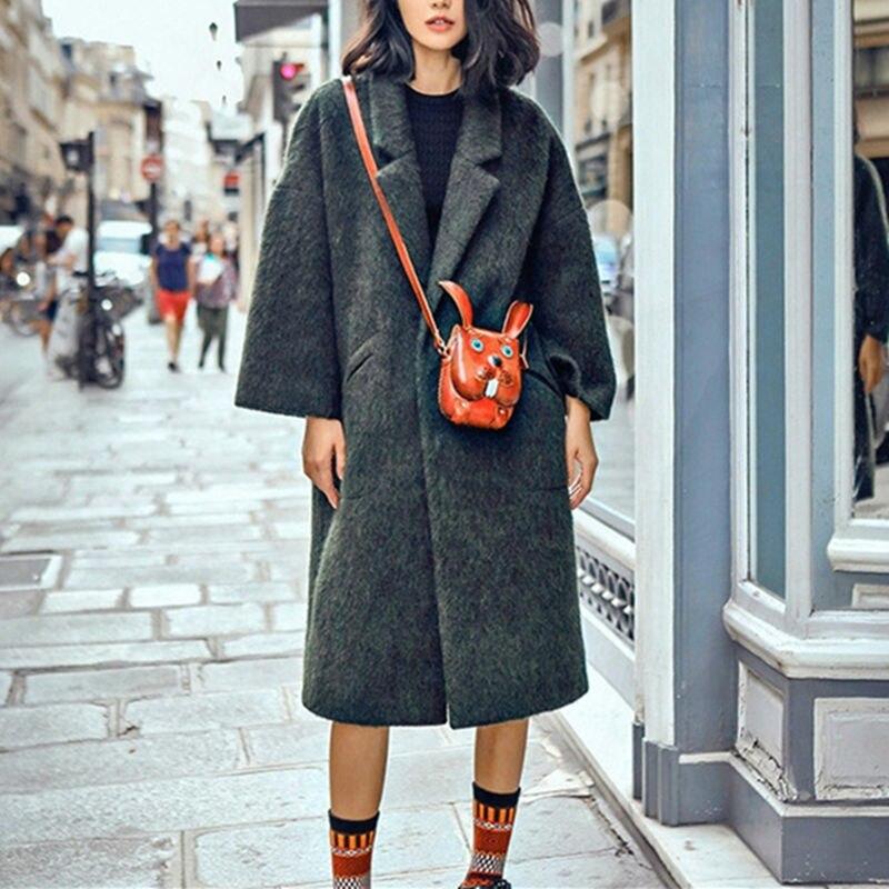Handmade Genuine Leather Women Messenger Bag Cartoon Style Personality Women Crossbody Mini Bags<br>