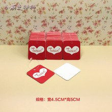 Hot sell LIVE FASHION tags Size: 50X45mm 500PCS 350gsm paper clothing|jewelry tags , Price Label free shiping(China)