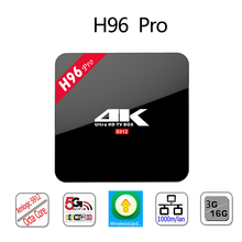 Buy 2017 Latest H96 Pro 2GB RAM 16GB ROM Android 7.1 TV Box S912 Octa-core CPU Dual-band WIFI 2.4GHz/5.0GHz Bluetooth 4.1 1000M LAN for $51.99 in AliExpress store