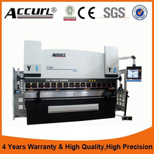 110T CNC press brake bending machine ,DA66T sheet metal cutting and bending machine