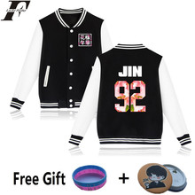 LUCKYFRIDAYF KPOP BTS Baseball Jacket For Women/Couple Bangtan Boys Young Forever Album Flower Women Hoodies Sweatshirts 4XL