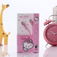 Cartoon 3.5 MM hello kitty Minions earphones microphone earphone for iPhone Samsung Xiaomi MP3 LG