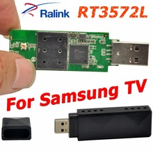 RaLink RT3572 802.11a/g/b/n 600Mbps USB WiFi Adapter WiFi Dongle Wireless Adapter + 2x PCB Antenna For Samsung TV Windows 7/8/10(China)
