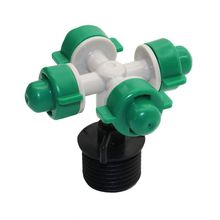 Atomized nozzle Seedling Atomizer Garden SprinklerfarmG1 / 2 Connector Irrigation Dropper Gardening Tools and Equipment 10pcs(China)