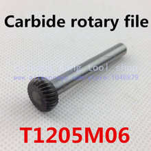Head 12mm,Dise type with arc edge,carbide rotary burrs,  deburring with rasp, carbide burrs, carbide grinding.T1205M06