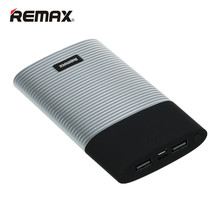 REMAX RPP-27 Power Bank 10000mAh Dual USB External Backup Battery Pack Powerbank Portable Phone Charger for iPhone7 Pad Sumsung(China)