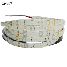 ZINUO 5M Waterproof Led Strip Light 5050 30leds/M IP65 Flexible LED Tape RGB Ribbon 150Leds DC12V For Home Party Decoration(China)