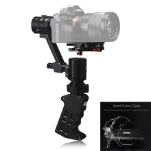 CAME-TV CAME-Single Cane Single 3 Axis Gimbal Portable Stabilize for Camera 32-bit Boards with Dual Handle Encoders Carry Case
