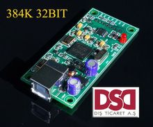 latest XMOS U8 USB 384K 32B module I2S SPDIF output,support DSD for es9018 DAC A8-008