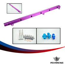 PQY RACING-  NEW Fuel Rail For Toyota Soarer Chaser Supra 1JZGTE 1JZ- GTE Turbo Fuel Rail Injectors delivery PQY5444P
