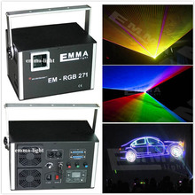 Sound Control DJ Light 5w RGB LED DMX Stage Light Laser Projector Party Show Disco Lighting