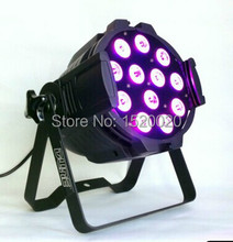 12pcs 10W  LED PAR can RGBW 4IN1 led stage lights for stage night club lighting party lights