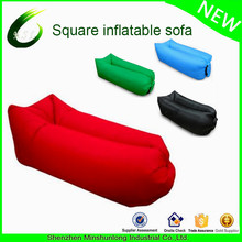 2017 ripstop nylon hot sale fast inflatable air sleeping lazy bag lounger sofa hangout couch air chair beach air sofa stuff sack
