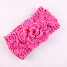 Knit Headband Girls Crochet Headband with Flower for Girls Winter Headband Flower Headband Ear Warmer Hair Accessories