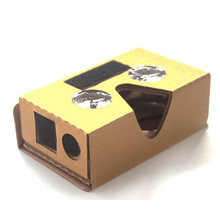 3D Virtual Reality Glasses Google Cardboard 2.0 DIY VR 3D Google Mobile Phone Cardboard Glasses Kit  with Portable Head Band