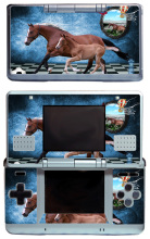 Horses 040 Vinyl Skin Sticker Protector for Nintendo DS NDS Original (fat) skins Stickers(China)
