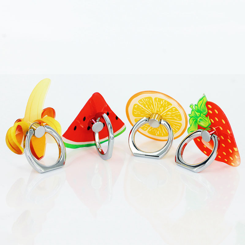 KOC2971_2_Fruit Series Universal Metal Finger Ring Stent 360 Degree Rotation Buckle Stent Mobile Phone Holder Stand for iPhone Samsung HUAWEI Xiaomi ZTE BQ Highscreen