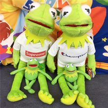 "Hot Sale 40cm Sesame Street Kermit Frog Plush Toy Baby Soft Toy 15.5"" Plush Doll Good Quality"
