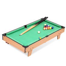 "32"" Classic mini american pool table billiard tabletop pool table toy table game for kids-HG203D(China)"