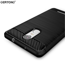 Carbon Fiber Soft TPU Cover Case For Xiaomi Redmi Note 4 4X For Redmi 4A 4 Pro Global Version Silicone Phone Bag Cases