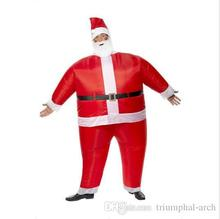 2015  Special Christmas creative Mascot costumes Adult inflatable Santa Claus walking performance clothing free