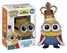 Pop Fun Toys 2016 New Model King Minions Kids Toys Doll Cosplay Minion in Action Figure King's Bob Dolls