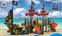 HOT SELL! Fantastic Pirate Ship Children Playground Equipment CE Certified Outdoor Play Set 821501