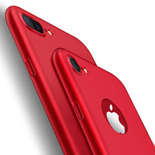ZNP Luxury Hard Back Plastic matte PC Full Case for iPhone 6 Cases 5s 6s 6 plus 5 SE For iPhone 7 7 Plus Red Cases Cover Phone