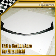 For Mitsubishi Evolution EVO 8 Ralliart Style Carbon Fiber Front Lip Spoiler
