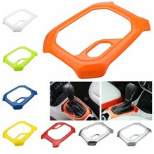 Car ABS Interior Accessories Gear Trim Frame For Jeep/Renegade 2015-2016 ABS Plastic