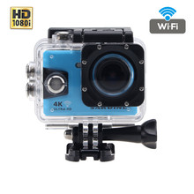 Mambaman Sardine Action Camera HD 1080P Wifi 4K Go Waterproof Pro 2.0 LCD 170D 60FPS Sport Cam Wireless Mini High Quality Camera