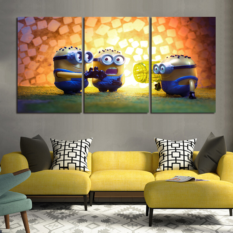 Contemporary Wall Art Three Piece Set Sketch - Wall Art Collections ...