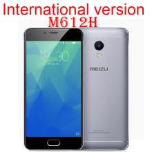 "Original MEIZU M5S Global Version M612H MTK6753 Octa Core 3GB 16/32GB  5.2"" HD IPS Fingerprint Fast Charging Mobile Phone"