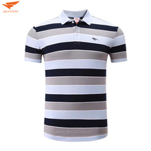 High Quality 100% Cotton Men Sports Polo Shirt Golf Shirt Clothing Stripes Turn-down Collar Breathable Shirts Sportswear Clothes