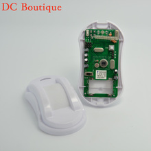 (1 pcs)Security Indoor Wireless Curtain motion Sensor with Lithium Battery for Long Battery Life 2262 chip 433MHz PIR detector