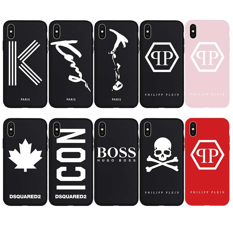 PHILIPP PLEIN K ICON Brand NEW Soft Case for iPhone 7Plus 7 8 8Plus X Xs Max XR 6 6s Plus 5 5s SE Phone Cover Cases Coque Shell(China)
