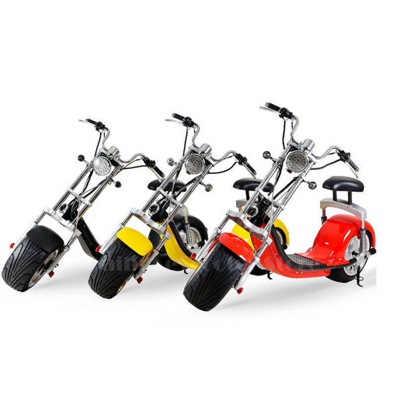 Daibot Electric Scooter Harley Citycoco Two Wheels Electric Scooter 60V 1500W Electric Scooter Motorcycle For Adults (8)