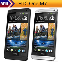 Refurbished Original HTC One M7 Cell Phone Android Quad Core 2G RAM+32G ROM Unlocked black silver gold color(China)