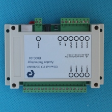 4 channel Network Relay IO Module 4DI Digital Ethernet Restful HTTP API TCP + Modbus TCP