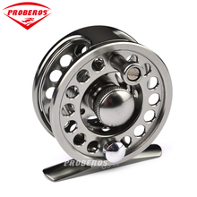 PRO BEROS Fly Fishing Wheel Top Quality Fishing Reel Exported to Japan Black Color Fly Reel 3/4 Fly Fishing Wheel Diameter 60mm(China)