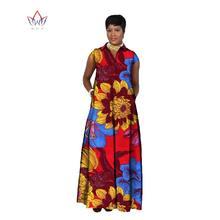2018 african dresses for women Fashion Design dashiki women bazin riche long  cotton dress dashiki plus size regular 6xl WY716 8496d1274ab3