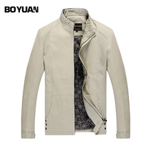 BOYAUN Brand Clothing 2017 New Fashion Brand Jacket Men Clothes Trend Slim Fit High-Quality Casual Mens Jackets And Coat BYH812(China)