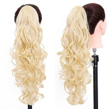 Long Curly Bangs Natural Blonde Claw Bangs Hairpiece Cheap Bangs Hair Piece Heat Resistant Fake Hair Pieces Women Hairstyles