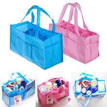 Portable Mommy Bag Bottle Storage Multifunctional Separate Bag Nappy Maternity Handbag Baby Tote Diaper Organizer